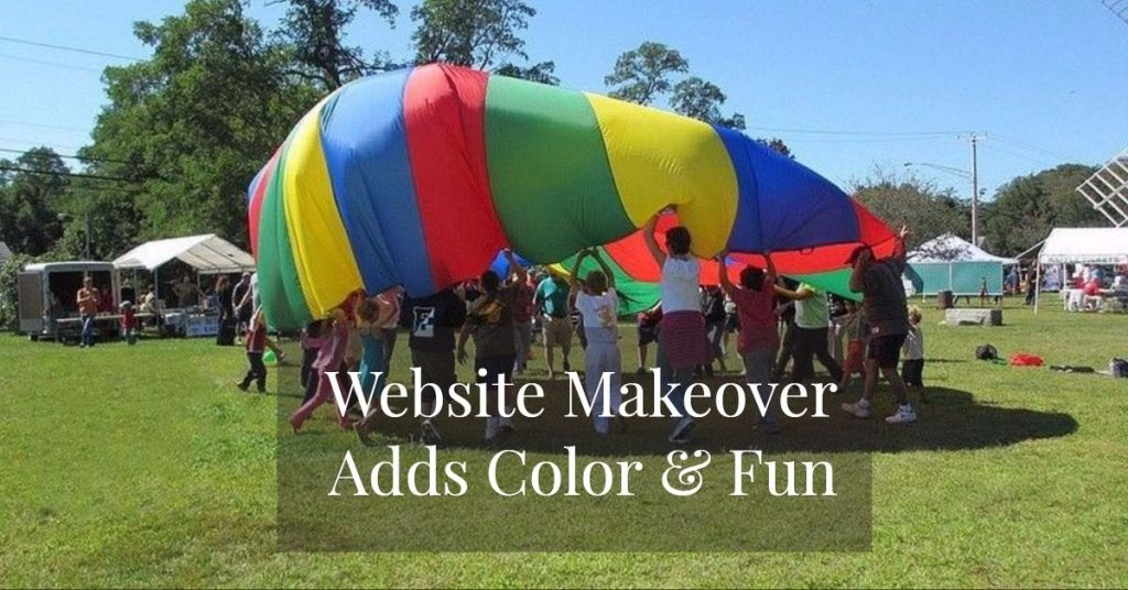 Add Color, Fun and Interest to an Old Website 1