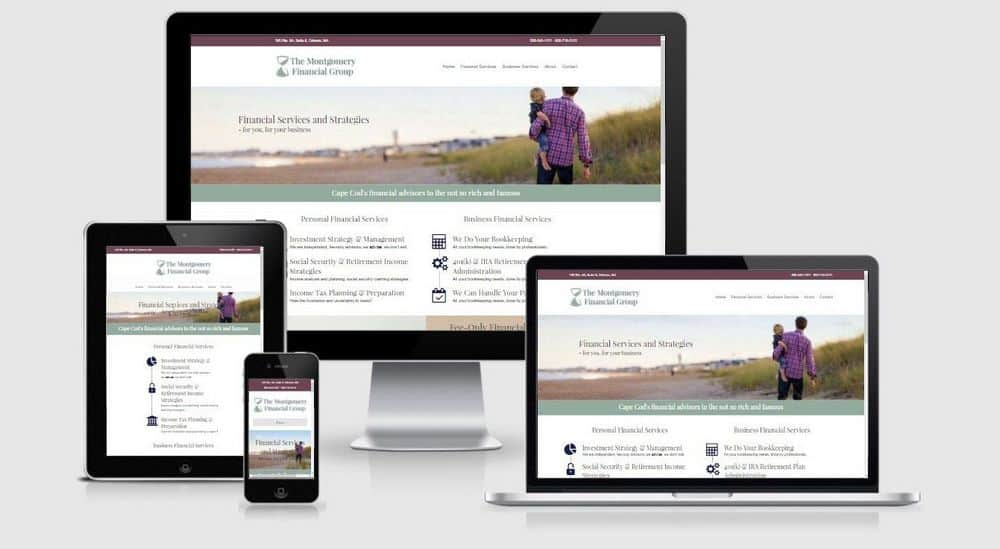 Kemp Resources Cape Cod Web Design 1